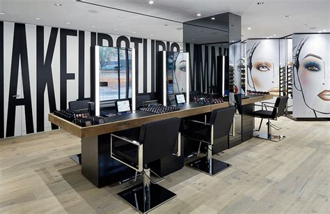 makeup hair salon inside the brand new mac cosmetics studio store s magazine