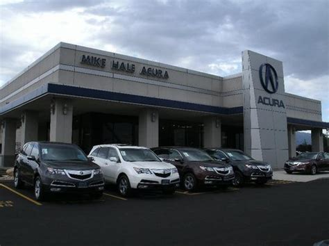 mike hale acura car dealership in murray ut 84107