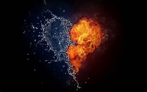 Fire and Water Heart | ABSTRACT