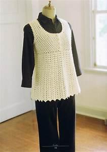 Pretty Crochet Vest Pattern For Women  U22c6 Crochet Kingdom