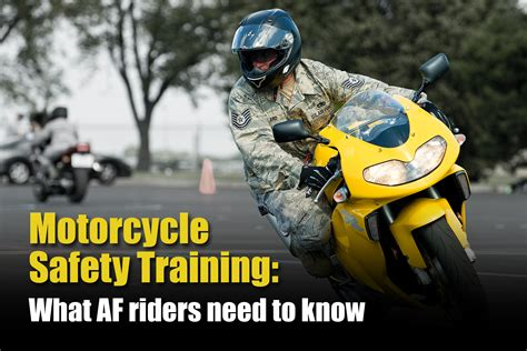 What Af Riders Need To Know