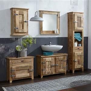 Bad Set Holz : badezimmerm bel holz rustikal ~ Indierocktalk.com Haus und Dekorationen
