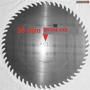 Lames Scie Circulaire : lame de scie sb cv 600 bois 56 dents de loup 35mm moyeu ~ Edinachiropracticcenter.com Idées de Décoration