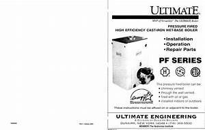 Ultimate Products Pf Series Users Manual