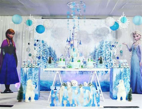 frozen disney birthday karens frozen theme party