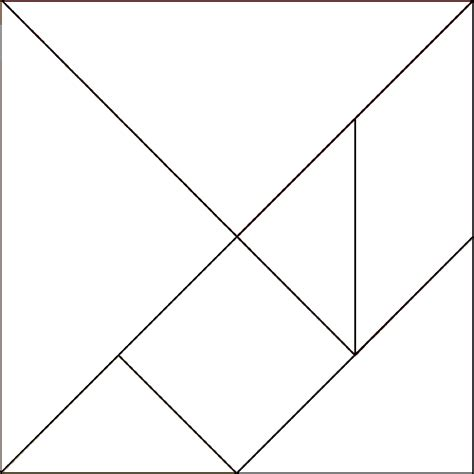 tangram template la civetta chiacchierina passione di carta non paper tangram idee diy