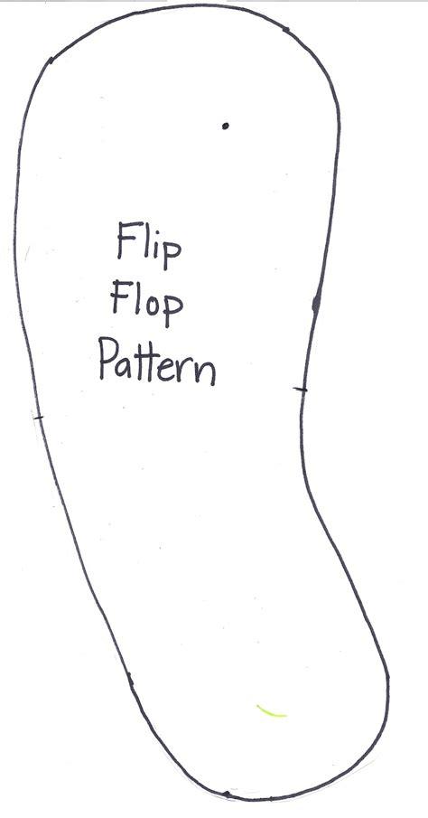 flip flop template hollyshome family make a flip flop gift bag