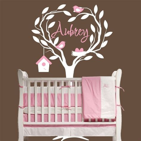 children wall decal nursery personalized with name decor