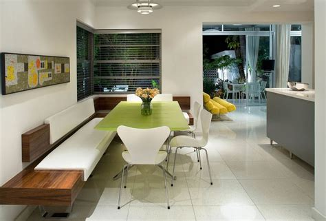 built in bench seat kitchen how a kitchen table with bench seating can totally