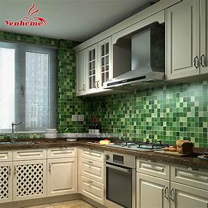 5meter pvc wall sticker bathroom waterproof self adhesive for Kitchen colors with white cabinets with papiers transfert