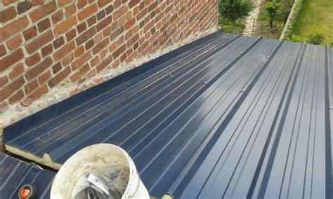 toiture bac acier isolé toiture en bac acier r 233 alis 233 e nord solutions toiture lille