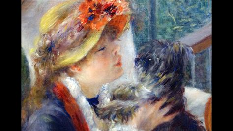 Renoir Luncheon Of The Boating Party Youtube