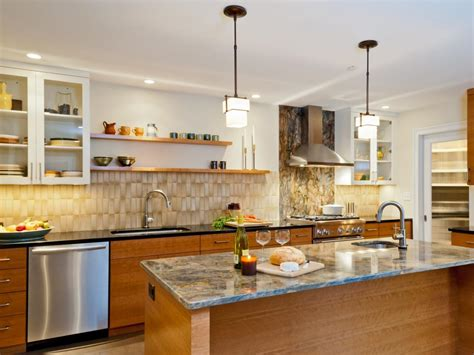 design ideas  kitchens  upper cabinets hgtv