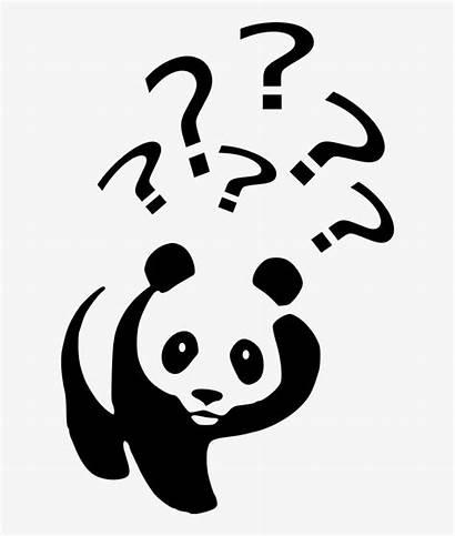 Mark Question Clipart Marks Panda Interrogation Point