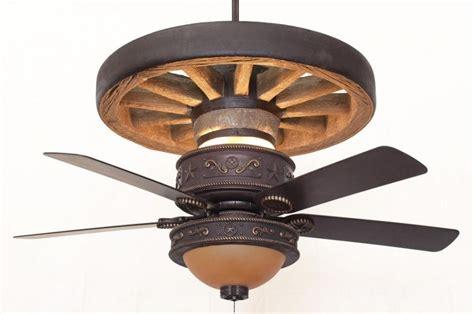 wheel light kits copper western wagon wheel ceiling fan