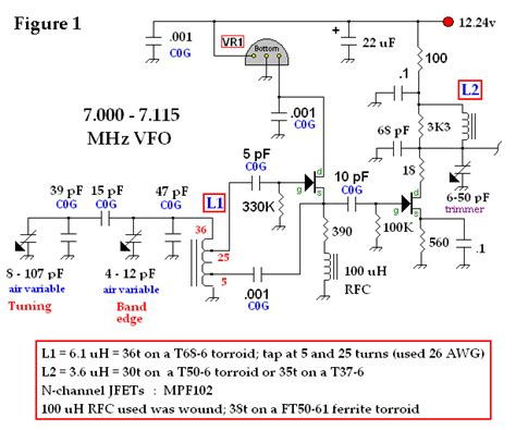 Variable Frequency Oscillator Signal Processing