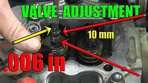 Honda Rancher 350 Valve Adjustment  2000