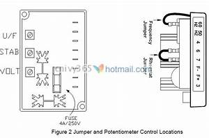 Generator Voltage Regulator Avc63-4