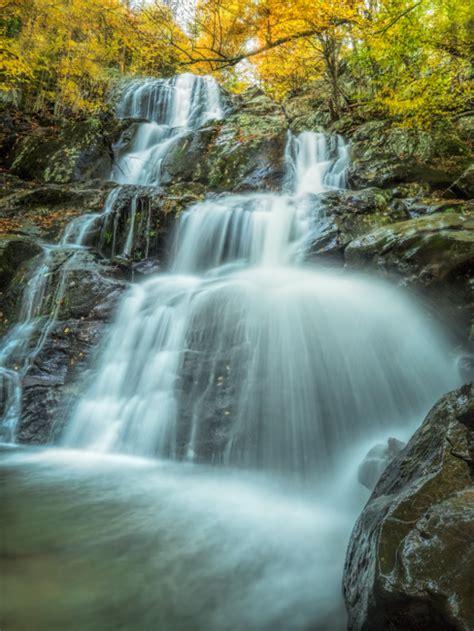 photographing dark hollow falls  shenandoah national