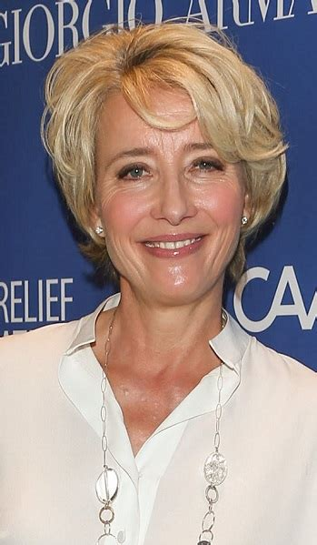 hairstyles emma thompson short layered hairstyle