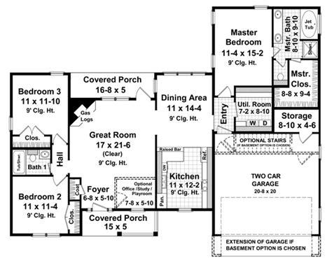 inspiring one story house plans photo inspiring single story house plans 13 single story 1600