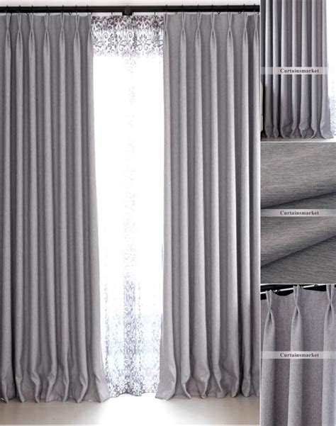 gray blackout curtains modern bedroom and living room gray blackout curtains