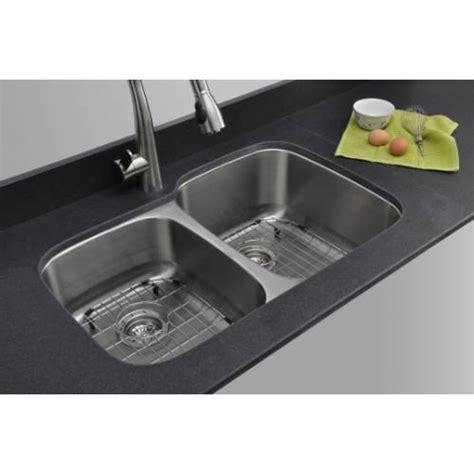 kitchen sink packages sinkware 18 40 60 bowl undermount 2810
