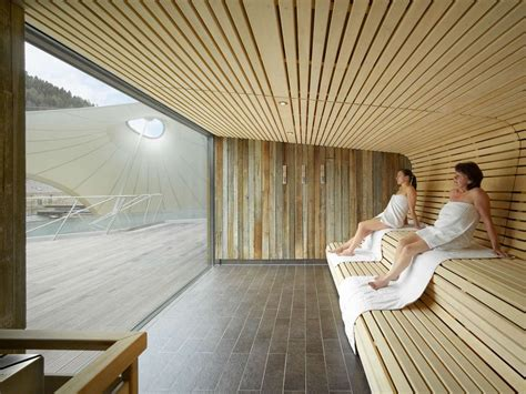 The Spa Complex In Germany by The Thermal Facilities Are An Important Element Of