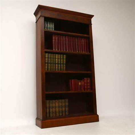 Antique Bookcases Uk by Antique Burr Walnut Open Bookcase Marylebone