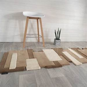 tapis taupe de luxe de couloir design pebbles par angelo With tapis couloir avec canape modulable dehoussable