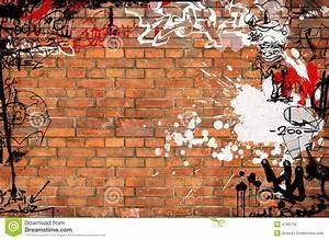Graffiti Brick Wall Royalty Free Stock Images - Image: 4769779