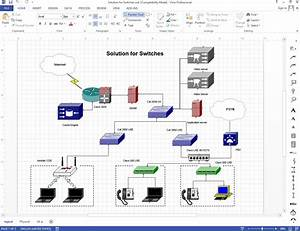 Network Rack Elevation Diagram
