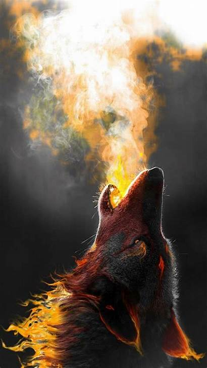 Howling Wolves Wolf