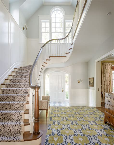 cottage style house traditional staircase seattle