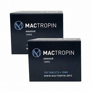 Pack Strength - Mactropin  U2013 Anavar Oxandrolone  6 Weeks