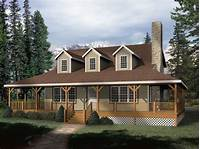 house plans with wrap around porch Small Rustic House Plans Rustic House Plans with Wrap ...