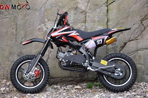 50cc 2 Strokes Mini Dirt Bike Pull Start Mini Cross Bike