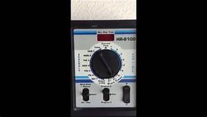 How To Setup Hardie Sprinkler System  Hr-6100