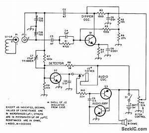 Audible Dipper - Basic Circuit - Circuit Diagram