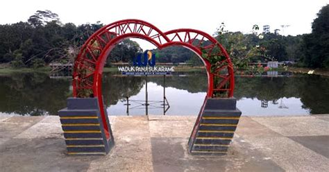 Tiket dewasa dijual dengan harga rp. Waduk Panji Sukarame, Tempat Rekreasi Air di Kutai Kartanegara - Borneo ID