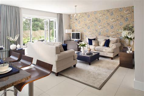 Living Room Wallpaper Decorating Ideas : 3 Kiat Percantik Ruang Tamu Dengan Wallpaper
