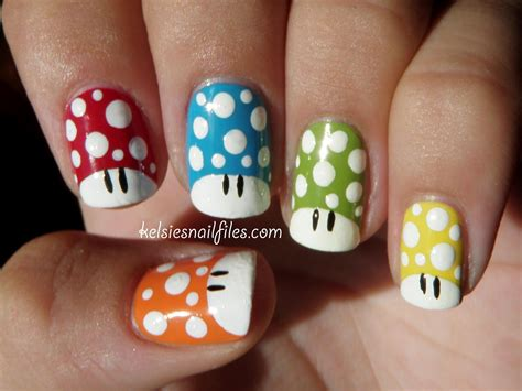 Another Geeky Nail Design Are These Awesome Super Mario