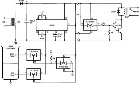 Flow Switch Circuit Design For Fluids