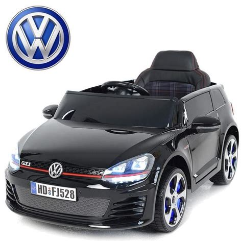 siege golf 1 gti voiture électrique enfant golf gti 12v siège cuir