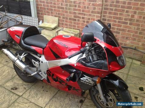 1999 Suzuki Gsxr 600 by 1999 Suzuki Gsxr 600 W For Sale In United Kingdom