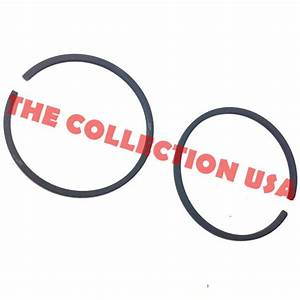 44mm Piston Ring For 49cc Gas Scooter Pocket Bike X1 X2 X7