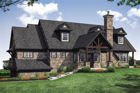 lodge style house plans stonegate    designs