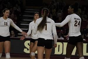 ASU Volleyball: Sun Devils win thriller 5-set match over ...