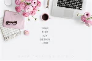 Girly Office Desk Accessories by 20 Feminine Flat Lay Photos For Bloggers Rebelsaurus