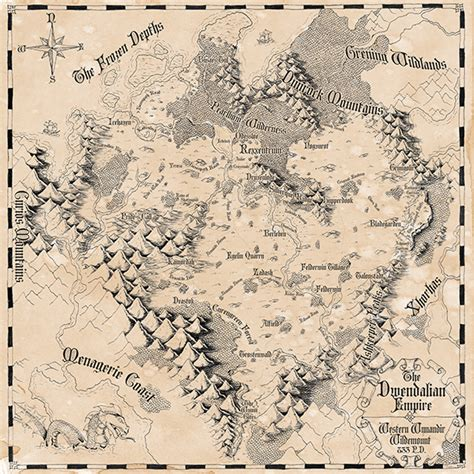 critical role dwendalian empire map
